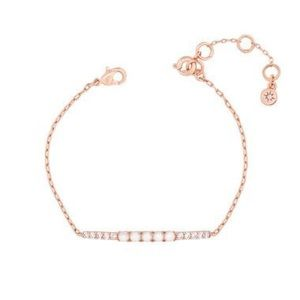 Chloe + Isabel Jewelry - Petite Bijoux Rose Gold, Pave & Pearl Bracelet